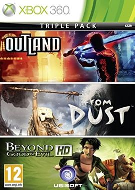 Triple Pack: Outland/From Dust/Beyond Good & Evil