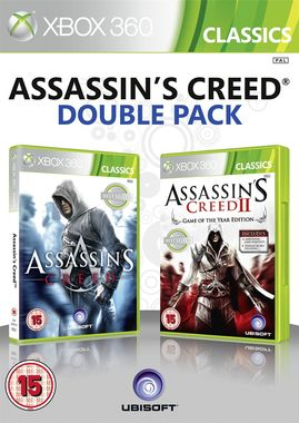 Assassins Creed I & II Double Pack