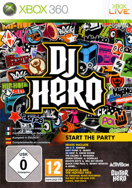DJ Hero (Game Only) - Game Needs Turntable