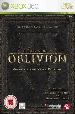 Elder Scrolls IV: Oblivion. Game of the Year Edition