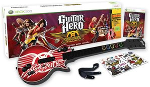 Guitar Hero Aerosmith with Guitar