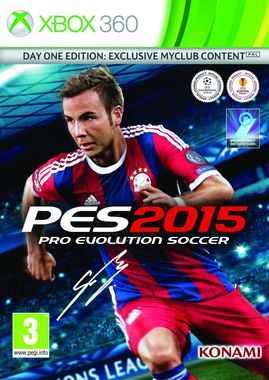 Pro Evolution Soccer 2015 PES2015 Day One Edition