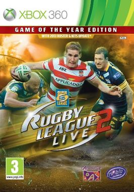 Rugby League Live 2 Game Of The Year Edition