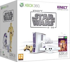 Xbox 360 320GB Star Wars Kinect Console - Limited Edition