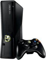 Xbox 360 4GB Black Slim Console (Xbox 360)