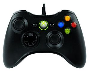 Xbox 360 Wired Gamepad Black - MS