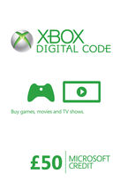 Xbox Live Credit (Digital Product) - £50