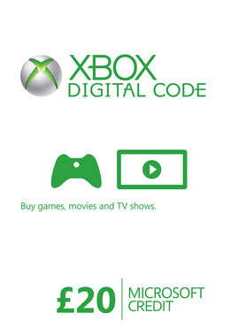 Xbox Live Credit (Digital Product) - £20