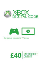 Xbox Live Credit (Digital Product) - £40