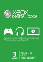 Xbox Live (Digital Product Only) - 3 Month Gold Membership