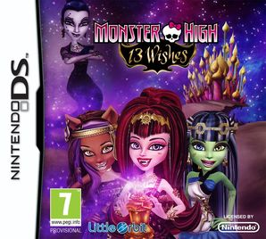 Monster High 13 Wishes The Game