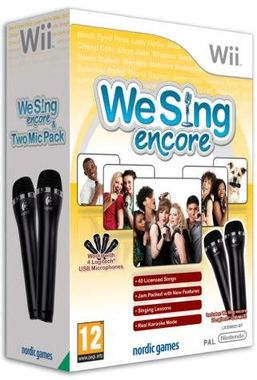 We Sing Encore with Two Microphones