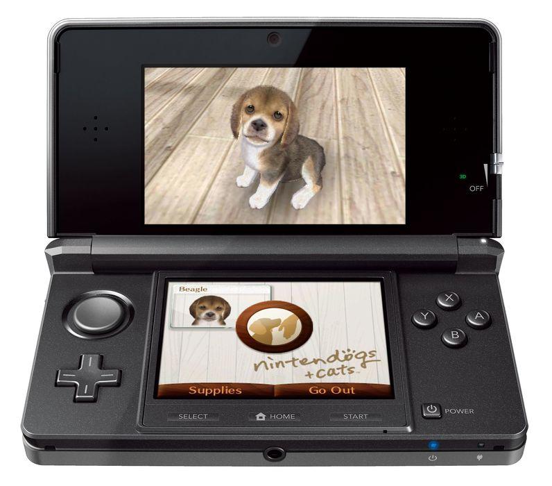 Nintendo 3ds handheld console cosmos black - Nintendo 3ds handheld console ...