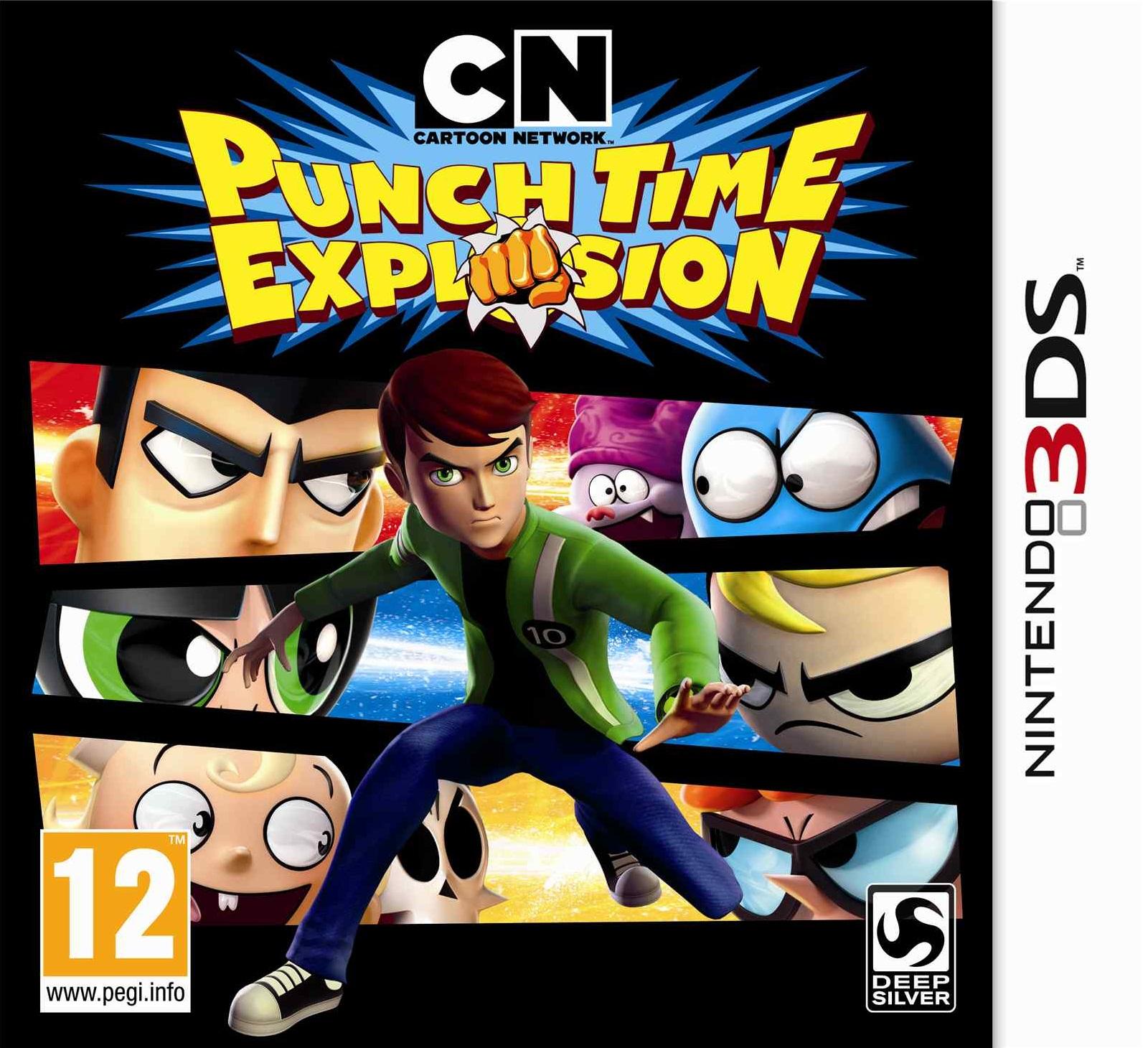 Cn Cartoon Network Punch Time Explosion Nintendo