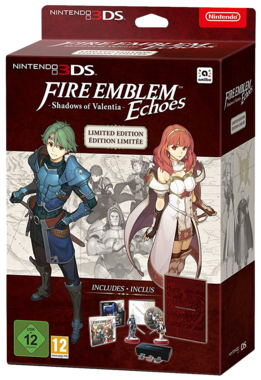 Fire Emblem Echoes: Shadows of Valentia Limited Edition