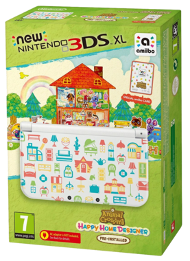 New 3DS XL Animal Crossing: Happy Home Designer Edition