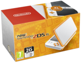 New Nintendo 2DS XL - White and Orange