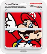 New Nintendo 3DS Coverplate - Mario