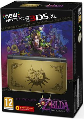 New Nintendo 3DS XL - Zelda Limited Edition