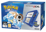 Nintendo 2DS Transparent Blue + Pokemon Blue