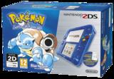 Nintendo 2DS Transparent Blue + Pokemon Blue