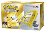 Nintendo 2DS Transparent Yellow + Pokemon Yellow