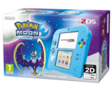 Nintendo 2DS Turquoise with Pokemon Moon