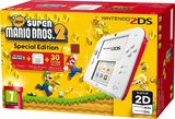Nintendo 2DS White/Red with Mario 2 Preinstalled