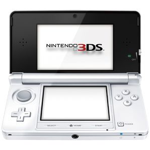 Nintendo 3DS Handheld Console (Ice White)