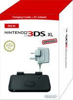 Nintendo 3DS XL AC Adapter & Cradle