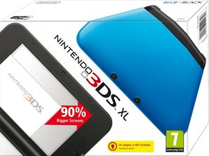 Nintendo 3DS XL Console - Black & Blue