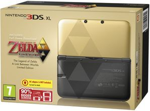 Nintendo 3DS XL Console - Legend of Zelda Limited Ed