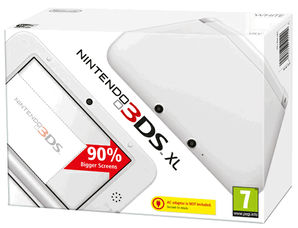 Nintendo 3DS XL Console - White
