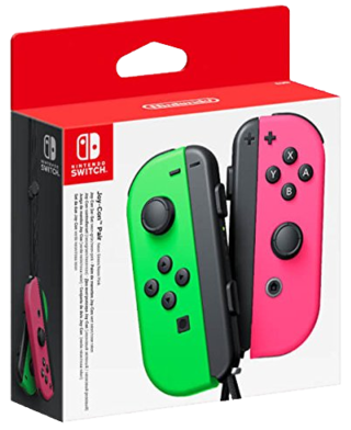 Nintendo Switch Joy-Con Controller Pair - Neon Green/Pink