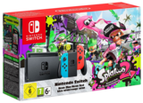 Nintendo Switch - Neon Red/Blue with Splatoon 2