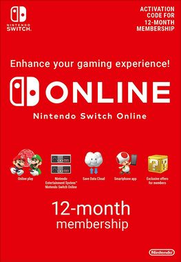 Nintendo Switch Online (Digital Product) 12 Month Membership