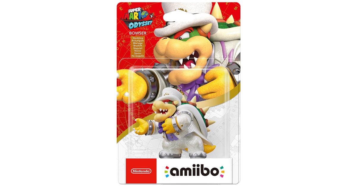 Nintendo - Super Mario Odyssey - Bowser Wedding amiibo