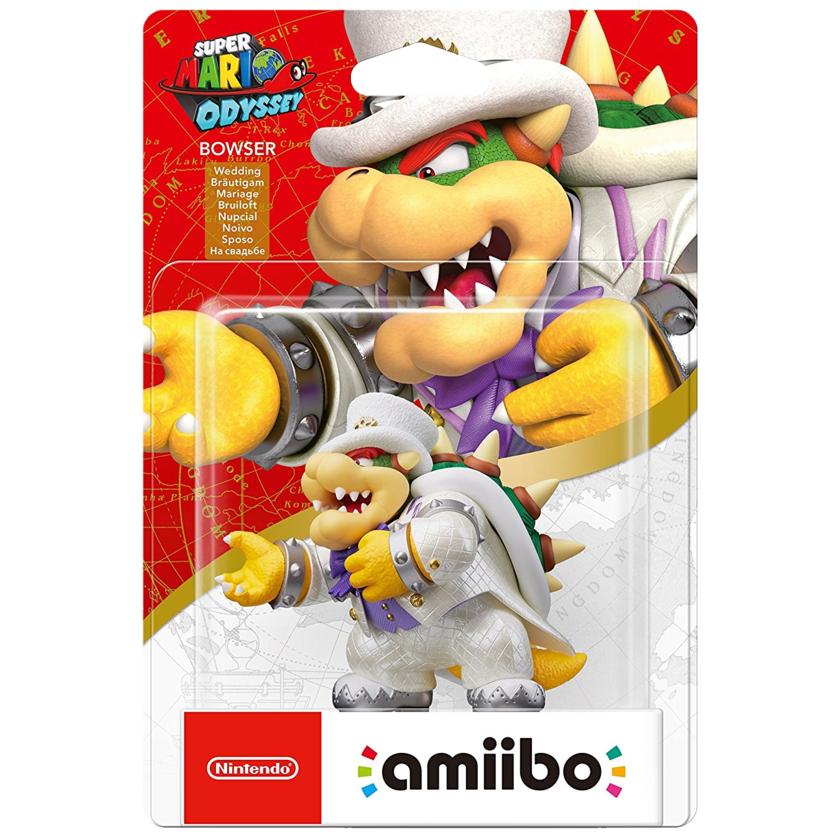 Nintendo Super Mario Odyssey Bowser Wedding Amiibo