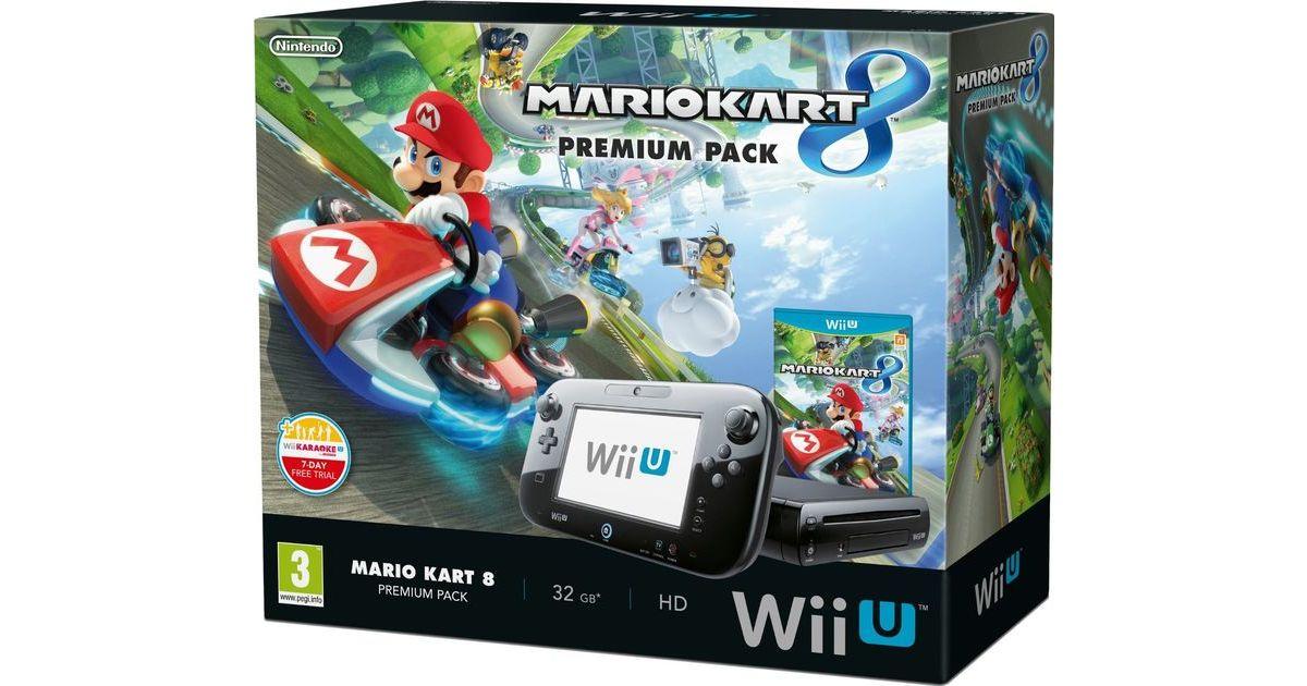 Nintendo wii u premium pack mario kart bundle - Wii console mario kart bundle ...