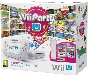 Nintendo Wii U White 8G Wii Party U Bundle