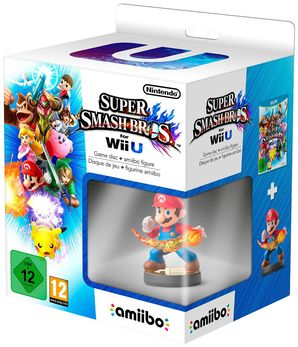 Super Smash Bros with Mario amiibo