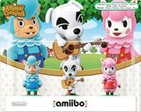 Nintendo Amiibo Animal Crossing 3 Pack Reese/K.K. Slider/Cyr