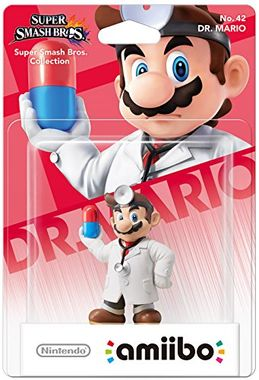 Nintendo amiibo Super Smash Bros. Dr Mario