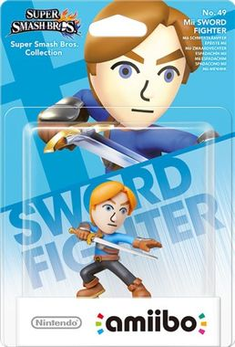 Nintendo amiibo Super Smash Bros. - Mii Sword Fighter
