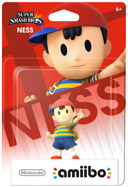 Nintendo amiibo Super Smash Bros. - Ness