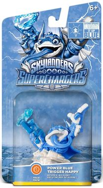 Skylander Superchargers Duble Dare Trigger Happy Blue