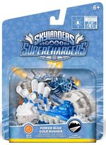 Skylanders SuperChargers Vehicle - Gold Rusher Blue