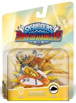 Skylanders SuperChargers Vehicle - Sun Runner
