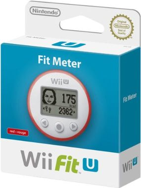 Wii Fit U Fit Meter Only - Red