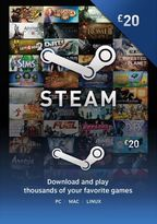 STEAM Wallet Top Up - £20 (Digital Product)